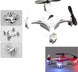 R/C Mini Quadcopter with Flash Light and 6-axis Gyro