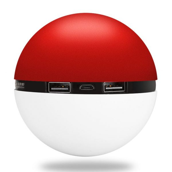 pokeball powerbank battery