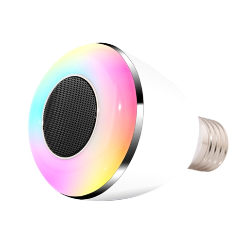 Bluetooth Smart Multicolor Led Bulb Amp Speaker Mitzen