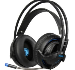 Gaming Headset Wired PS4, Xbox One, PC, Laptop, Mobile Phones